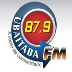 Logo da emissora R�dio Ubaitaba 87.9 FM
