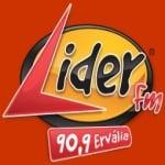Logo da emissora Rádio Líder 90.9 FM