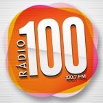 Logo da emissora R�dio 100.7 FM