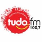 Logo da emissora Radio Tudo 100.7 FM