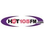 Logo da emissora WHQT 105 FM