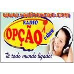 Logo da emissora R�dio Op��o