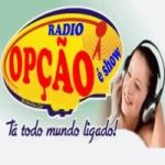 Logo da emissora Rádio Opção