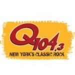 Logo da emissora Radio New York Classic's Rock's Q104.3 FM