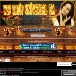 Logo da emissora Web Rádio Universal FM