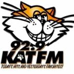 Logo da emissora Raio KATF 92.9 Kat FM