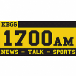 Logo da emissora Radio KBGG 1700 AM