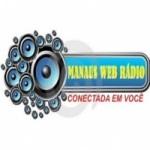 Logo da emissora Manaus Web Rádio