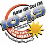 Logo da emissora R�dio Raio de Sol 104.9 FM