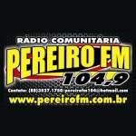 Logo da emissora Rádio Pereiro 104.9 FM