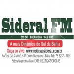 Logo da emissora R�dio Sideral 104.9 FM