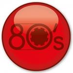 Logo da emissora Rádio Jovempan 80