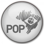Logo da emissora R�dio Jovem JP Brasil Pop