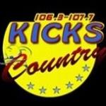Logo da emissora WHQX 107.7 FM