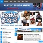 Logo da emissora R�dio Nova Web