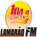 Logo da emissora R�dio Lamar�o 104.9 FM