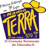 Logo da emissora R�dio Terra 104.3 FM