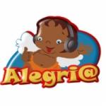 Logo da emissora Rádio Alegria Tem Nome