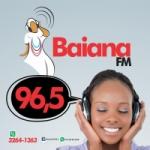 Logo da emissora Rádio Baiana 96.5 FM