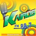 Logo da emissora Rádio Kairós 88.7 FM