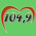 Logo da emissora R�dio Alto Alegre 104.9 FM