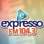 Logo da emissora Rádio Expresso 104.3 FM