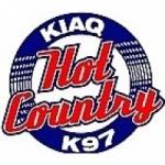 Logo da emissora Radio KIAQ K97 96.9 FM