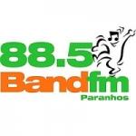 Logo da emissora Rádio Band FM 88.5 FM