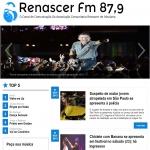 Logo da emissora R�dio Renascer 87.9 FM