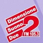 Logo da emissora Radio Dimensione Suono FM 105.3