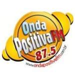 Logo da emissora Rádio Onda Positiva 87.5 FM