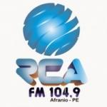 Logo da emissora R�dio RCA 104.9 FM