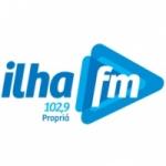 Logo da emissora R�dio Ilha 102.9 FM