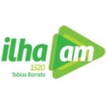 Logo da emissora Rádio Ilha 1520 AM