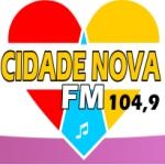 Logo da emissora Rádio 104 FM Itajuípe