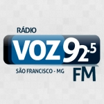Logo da emissora Rádio Voz 92.5 FM