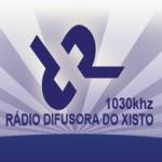 Logo da emissora R�dio Difusora do Xisto 1030 AM