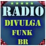 Logo da emissora Rádio Divulga Funk BR