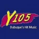 Logo da emissora Radio KLYV Y105 105.3 FM