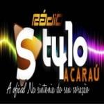 Logo da emissora R�dio Stylo Acara�