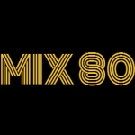Logo da emissora Rádio MIX 80