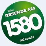 Logo da emissora R�dio Resende 1580 AM