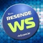Logo da emissora Rádio Resende WS Pop