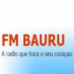 Logo da emissora Fm Bauru