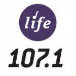 Logo da emissora Radio KNWI Life 107.1 FM