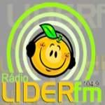 Logo da emissora Rádio Lider 104.9 FM