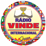 Logo da emissora Rádio Vinde Internacional