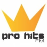 Logo da emissora Rádio Pro Hits