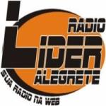 Logo da emissora Rádio Lider de Alegrete