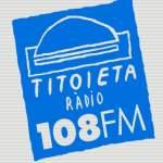 Logo da emissora Titoieta Rádio 108 FM